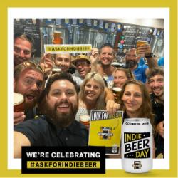 Indie Beer Day Selfie from Hemingway's Brewery FNQ