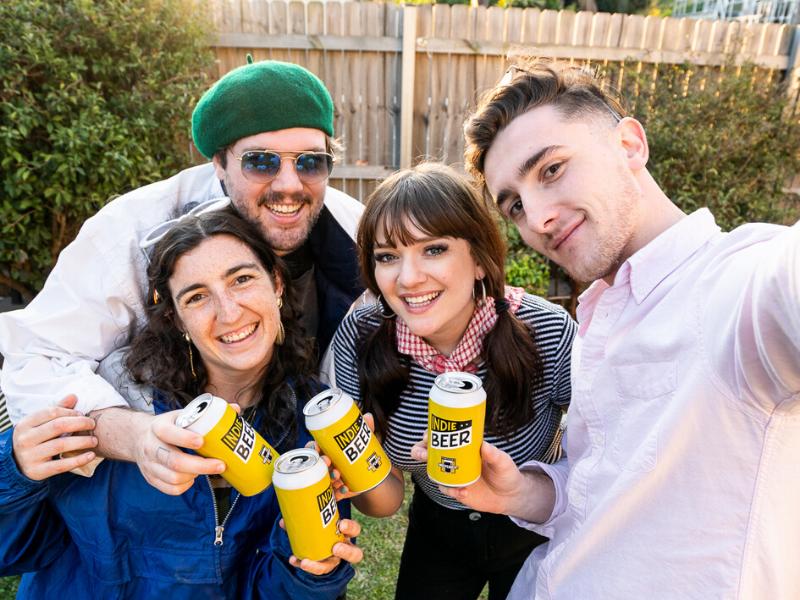 Indie Beer Selfies