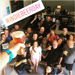 A toast from Seven Mile Brewing Co