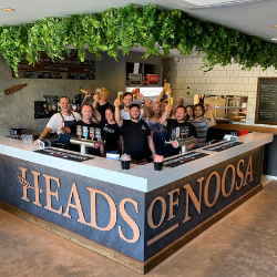 Cheers from Heads of Noosa