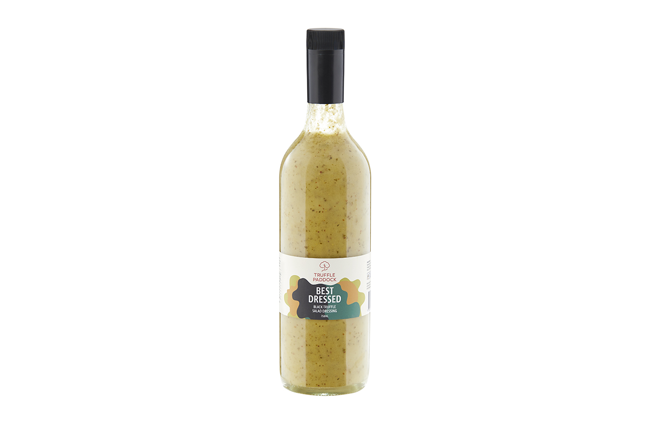Best Dressed Black truffle salad dressing 750 Ml