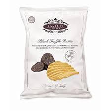 Tartufi Jimmy Black Truffle & Sea Salt Potato Chips 90gm