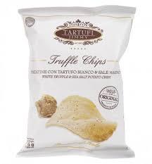 Tartufi Jimmy White Truffle & Sea Salt Potato Chips 90gm